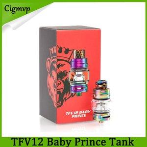 TFV12 Bebê Príncipe Tanque ecigs 4.5 ml Bebê Besta Rei com V8 Bebê Q4 T12 Malha Bobinas TFV12 príncipe Tanque DHL Livre