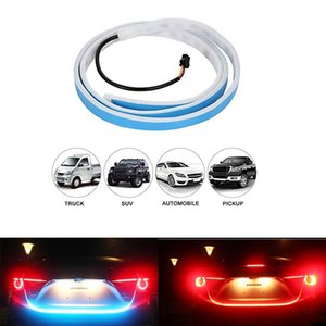 Car Atmosphere Turn Signal High Stop Lamp Running Water Monkey Lamp Two-color Modified Tailbox Lamp