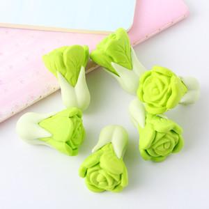 Резинка Карандаш Kawaii ластики мило 2 шт / комплект капусты форма Eraser студент подарок Креативный Eraser овощной стиль питания школьный офис XPC02