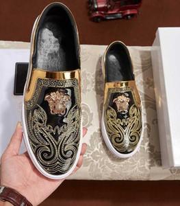 Mais recente marca de botas masculinas no mercado a mais alta qualidade amarela azul, alta baixa gola dos homens sapatos casuais sapatos de festa de casamento 4