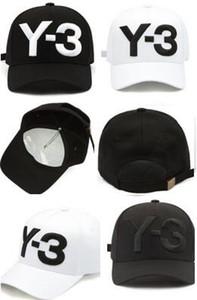 Дешевые Оптовая Y - 3 Папа шляпа большой смелый вышитые логотип бейсболки регулируемые Strapback шляпы Y3 кости Snapback Спорт Casquette козырек gorras