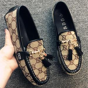 Liusu doudou классический холст мужские и женские фирменные плоские туфли, мужская повседневная обувь мужская повседневная обувь, мужские дизайнерские горки G1.42