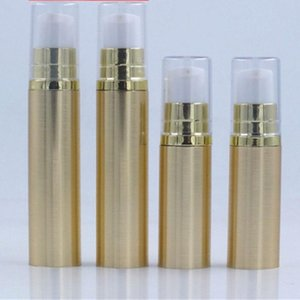 5ml 10ml Airless Pump Bottle Empty Eye Cream Container Lotion and Gel Dispenser Airless Bottle Clear Gold Silver