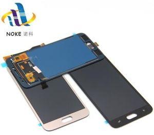 Oro Negro LCD para Samsung J2 Pro 2018 J250 J250F J250H J250M LCD Panel de pantalla táctil Piezas de montaje de vidrio