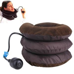 Soins de santé Air Traction cervicale Coude souple Attelle Dispositif Support Traction cervicale Dos à l'épaule Soulagement de la douleur Masseur Relaxation