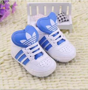 El primer caminante de primavera y otoño Zapatos de los bebés recién nacida princesa PU zapatos infantiles zapatos de Prewalker