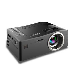 2018 Nouveau Original Unic UC18 Mini Projecteur LED Projecteurs de poche portables Lecteur Multimédia Home Theatre Game Supporte HDMI USB