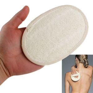 11x16 cm Loofah Natural Luffa Pad Body Exfoliation Scrubber Ducha de Baño Spa Accesorios de Baño de Esponja Caliente