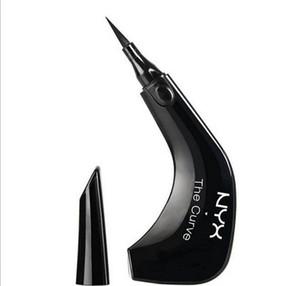 Нового NYX Кривой Жидкость Eyeliner красота Встречает Функцию высокого качества Водонепроницаемой Косметика Сторона Queen макияж глаз Eyeliner