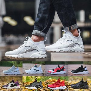 2020 Классические Nike Air Huarache 4,0 кроссовки Мужчины Женщины Лучшие качества Huarache Многоцветный Спорт Кроссовки спортивные мужские Кроссовки 36-46