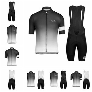 Rapha Cycling Jersey Manches Courtes Chemises De Cyclisme D'été Vêtements De Vélo Bike Wear Confortable Respirant Vente Chaude Rapha Jersey 90720Y