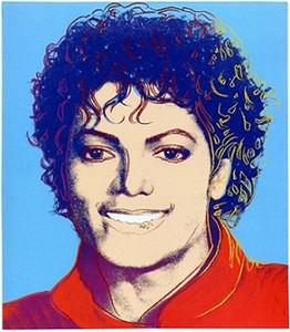 Nizza Andy Warhol New Pop Art Michael Jackson, A14 dipinto a mano HD Stampa astratta variopinta moderna arte della pittura a olio Sulla Canvas.Multi dimensioni Aw2