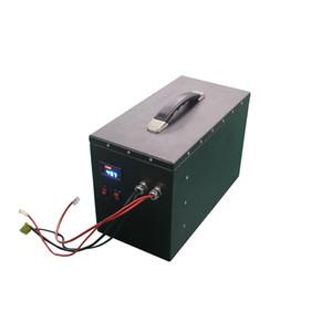 Batterie lipo rechargeable 48v à haute énergie Batterie lipo 13S1P 48V 60Ah avec moniteur et BMS pour système de stockage d'énergie / bloc d'alimentation portable