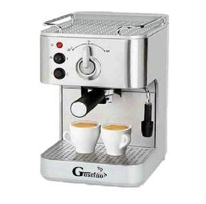 Macchina per caffè espresso Gustino Stainless Steel 304 19Bar semi automatica per caffè espresso con latte schiuma per casa o ufficio con LLFA