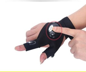 Luminous Sports Gloves Car Repair, Lighting Gloves Fishing Outdoor Riding Car Repair LED Flashlight Travel Watersports Backpacking