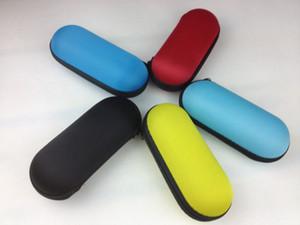 Custodia per tubo di vetro colletion capsule i migliori casi rigidi di base borsa per pipa per fumatori di tabacco colorato misura 2-5.5 pollici