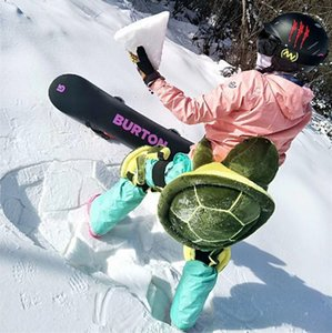 Small Turtle Lovely Ladybug Skiing Skating Protective Gear Buttocks Pads for Adults and Children Presaling Wholesale Skiing Supplies