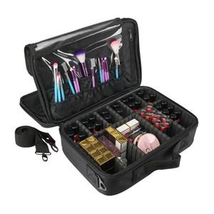 Nueva moda bolsa de cosméticos de viaje organizador de maquillaje cosméticos bolsas de la bolsa de alta calidad de maquillaje bolsas de maquillaje cosmético profesional bolsa
