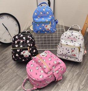 2018 Schoolbag Bebek sırt çantası Çocuk çantaları Anaokulu Öğrenci sırt çantası Çocuk çantası Tuval + PU Okul Çantaları Sevimli karikatür A11