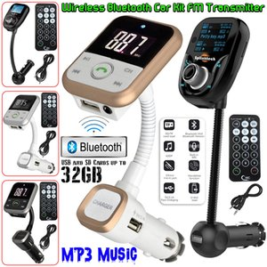2018Wireless Bluetooth Auto-MP3-Player-Radio FM Transmitter LCD SD USB Charger Kit USB-Modulator + Remote-freies Verschiffen