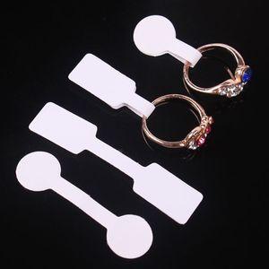 Jewelry Price Tag quadrate paper for necklace ring تسميات أسعار المجوهرات عرض البطاقات السعر الكلمات 60x12mm 50x13mm