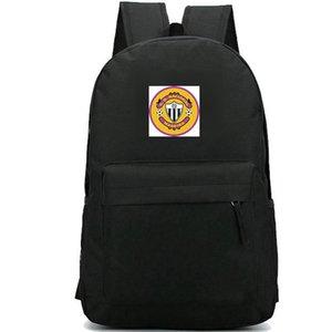 CD Nacional sırt çantası sırt çantası Beyaz ve Siyah futbol kulübü schoolbag Futbol rozeti sırt çantası Spor okul çantası Açık gün paketi