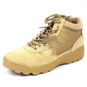 New US Military botas de cuero para hombres Combat bot Infantry botas tácticas askeri bot army bots army shoes erkek