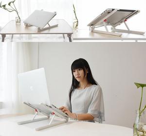Dizüstü Standı Tutucu Dağı Ayarlanabilir Açı Taşınabilir Katlanır Laptop Lapdesk Ofis Tüm Laptop Için Ergonomik Dizüstü ...