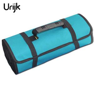 Urijk Roll-feed Portable 600D Oxford Tissu En Toile Sac D'outils De Stockage De Réparation De L'outil Tournevis Clé De La Poche Électricien Paquet