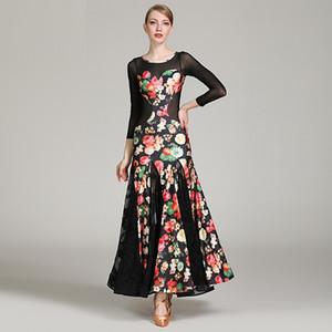 2019 dance standard ballroom dress стандартные танцевальные платья фламенко dress dance wear румба костюм бальный вальс dress танцевальная одежда