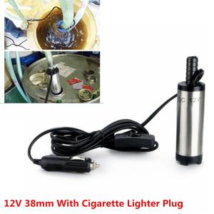 12 V 38mm Kraftstoff Wasser Öl Diesel Kraftstoffversorgung Tanken Auto Camping Angeln Tauchpumpe Zigarette Stecker