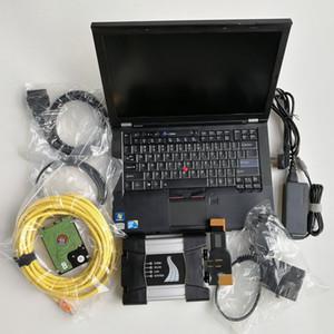 Per BMW ICOM Avanti con V12.2020 Soft-ware in 720 GB SSD Laptop usati T410 I5 4G