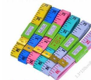 Tape Measure Of 150cm PVC Malzeme Dikiş Makinesi Vücut Ölçüm Teyp Kumaş Dikiş Cetvel Ve Terzi 60 İnç Vücut Bandı Ücretsiz nakliye