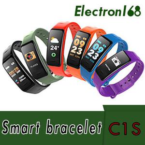 C1S Fitness Trackers Smart Bracelet Activité Moniteur De Pression Artérielle De Fréquence Cardiaque Ip67 Étanche Smart Wristand Pour iOS Smartphone