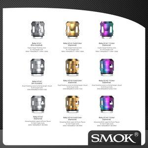 Authentic SMOK BEBÊ V2 Bobinas A1 / 2/3 0.17ohm 0.2ohm 0.15ohm Single / Dual / Triple Bobinas para TFV8 bebê V2 TANK