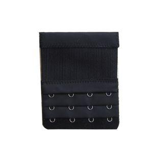 3pcs Bra Strap Extender 2 Righe 2 Hook Bra Extender Ganci Fibbia per cintura Elastico Chiusura regolabile Bar Strap Intimates Accessori