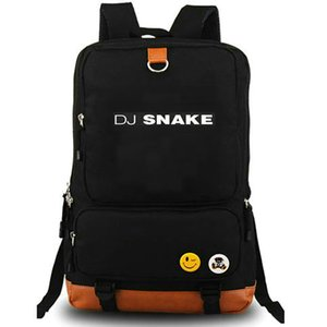 Encore backpack DJ snake daypack Turn Down For What music schoolbag Leisure rucksack Canvas school bag Outdoor day pack