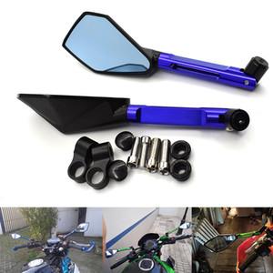Yeni Bir Çifti Moto Motosiklet Motosiklet Dikiz Yan Aynalar için Set CNC Alüminyum KAWASAKI HONDA SUZUKI YAMAHA DUCATI KTM