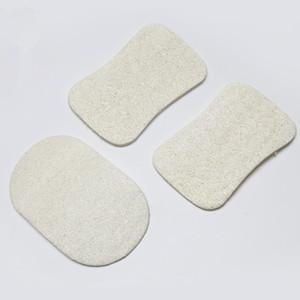 Natural Loofah Dish Brush Loofah Pad Volver Scrubber Cara Maquillaje Eliminar exfoliante y piel muerta Ducha de baño Loofah para herramientas caseras
