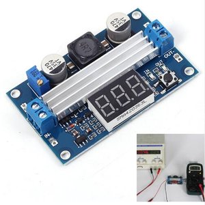 Kostenloser Versand! 1 teil / los DC-DC Hohe Leistung Step UP Modul Automatische Boost-modul 3,0-35 V bis 3,5-35 V 100 Watt Netzteil Board echtzeitanzeige