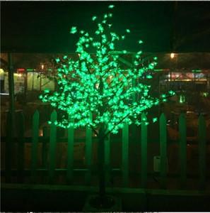 Bateau libre 1.8M / 6ft Bleu LED Cherry Blossom Tree Chemin de jardin en plein air Vacances Noël Nouvel an Lumière Mariage Décor