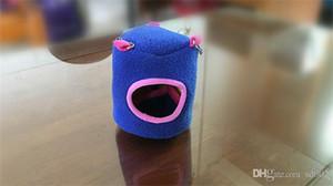 미니 소프트 다람쥐 햄스터 하우스 크리 에이 티브 그루터기 유형 작은 애완 동물 둥지 따뜻한 작은 동물 용품 라이트 소설 4 8wc2 cc 유지