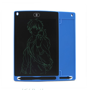 """8.5 """"شاشة LCD لوحة الكتابة بخط اليد لوحة الرسم الرقمي الرسومات بلا أوراق شاشة المفكرة دعم وظيفة واضحة 2107445"""