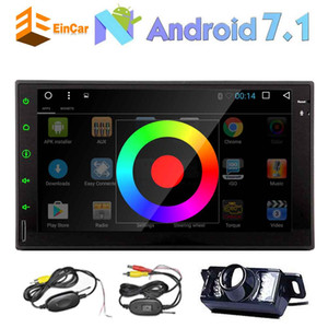 Eincar Octa Core 2Din Capacitive Muti Touch Screen Car Stereo Android 7.1 Receiver Audio HeadUnit Automotive in Dash GPS Navigation FM RDS