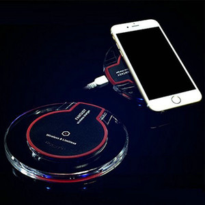 K9 Qi Wireless Charger Adapter For iPhone 8 plus X Samsung Note 9 8 S8 Plus S7 S6 Edge no retail packaging 10pcs