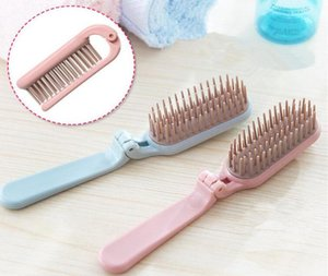 Creative Portable Collapsible Make Up Hair Comb Household Hair Styling Anti-Static Massage Teeth Comb for DHL free shipping 2018