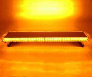 80 LED Car Truck LED Strobe Light Bar Flash emergenza avvertimento Beacon Signal Lamp Lightbar 12V / 24V