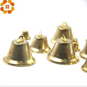 Nova Chegada 30 PCS 10 tamanhos de Natal Sino De Ouro Jardim de CasaChristmas Decorações Do Partido / Árvore de Natal Decoração Suprimentos Presentes