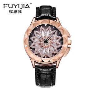 FUYIJIA or rose montres femme quartz montre dames montres-bracelets fille horloge marque de mode robe de luxe relogio femininoY1883105