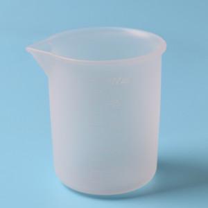 100 ml Taza de Silicona Crystal Pegamento Vasos de Medición de Laboratorio Reutilizables Para DIY Cocina Hecha A Mano Herramientas de Cocina Accesorios Con Escala 1 7ky YY